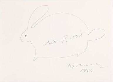 View 1. Thumbnail of Lot 61. White Rabbit.