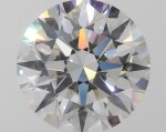 A 2.15 Carat Round Diamond, H Color, SI1 Clarity