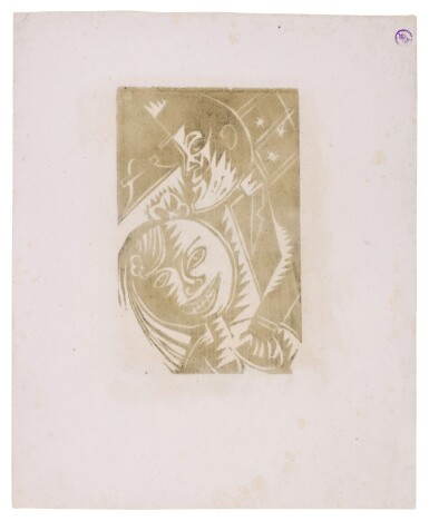 View 6. Thumbnail of Lot 60. Neun Holzschnitte (K. 23-31) (Nine woodcuts (K. 23-31)) .