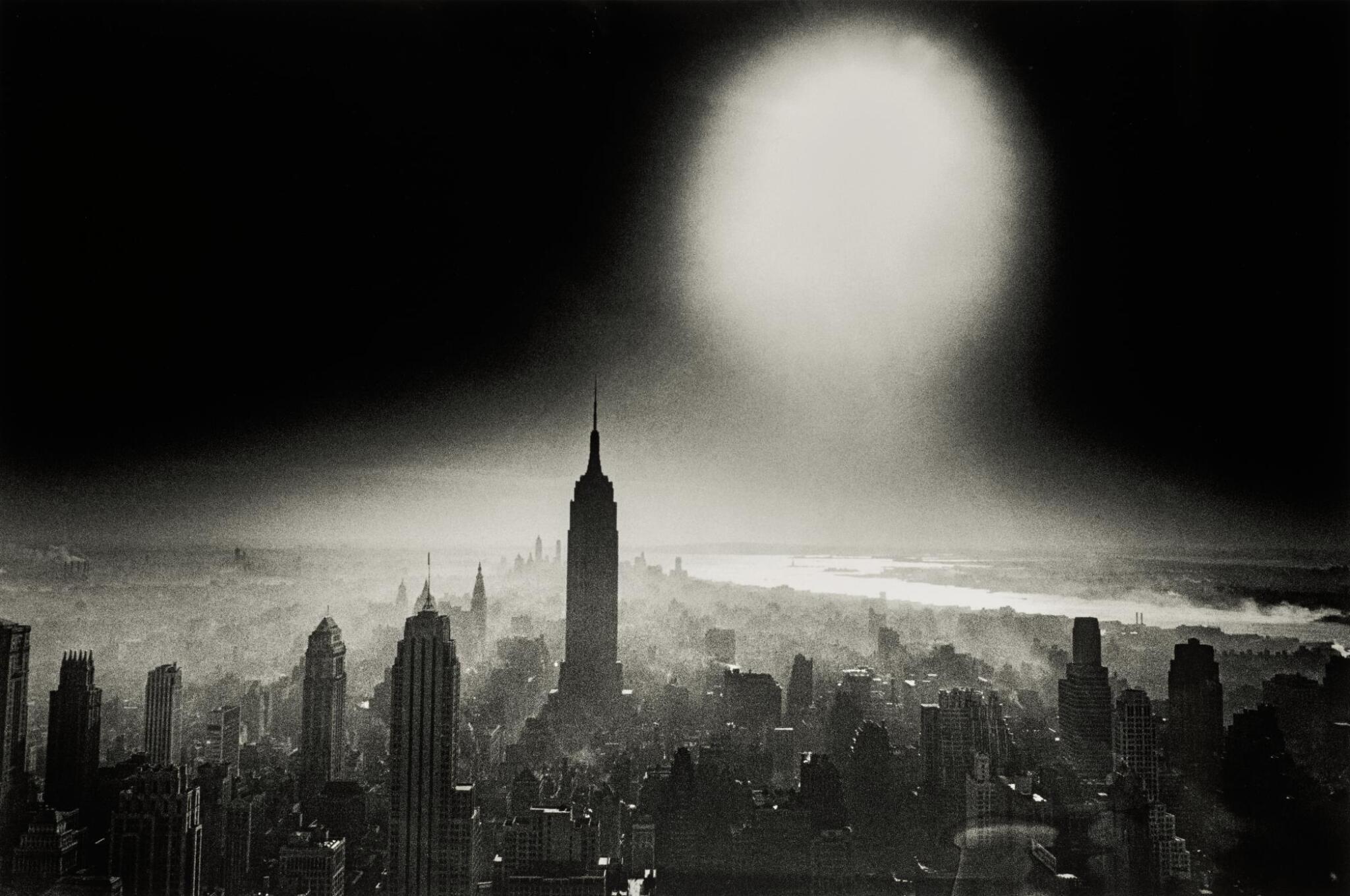 View full screen - View 1 of Lot 57. WILLIAM KLEIN | 'ATOM BOMB SKY', NEW YORK, 1955.