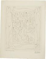 PABLO PICASSO | TABLE DES EAUX-FORTES (B. 94; BA. 135)