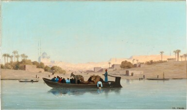 CHARLES THÉODORE FRÈRE | On the Nile