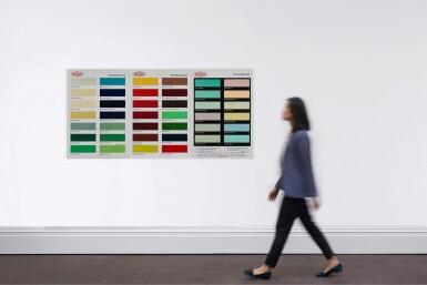 View 3. Thumbnail of Lot 9066.  達米恩・赫斯特 Damien Hirst | 色卡(H2) Colour Chart (H2).