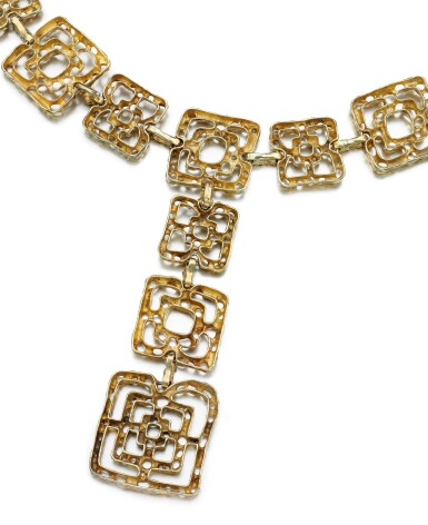 View 3. Thumbnail of Lot 31. LADY'S BELT, 'BYZANTINE', CARTIER, 1970S.
