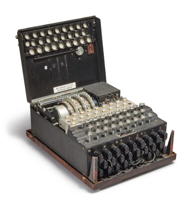View 9. Thumbnail of Lot 55. A Fully Operational Enigma I in Original Condition.