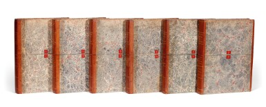 Ordnance Survey 'One-inch Old Series map of England and Wales' series. [early nineteenth-century]. 6 volumes
