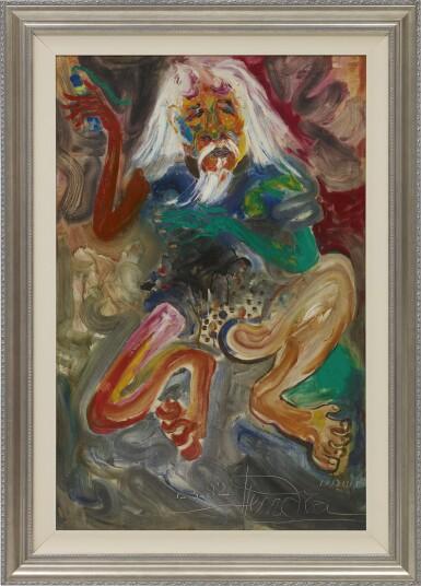 View 2. Thumbnail of Lot 300. HENDRA GUNAWAN 亨德拉·古拿溫 | PORTRAIT OF AFFANDI 阿凡迪的肖像.