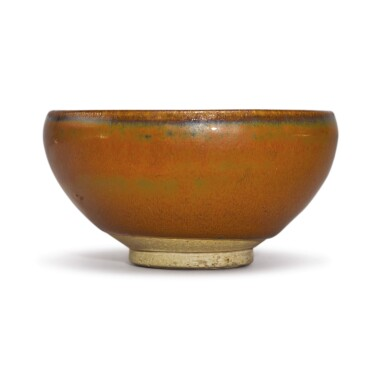 View 1. Thumbnail of Lot 708. A PERSIMMON-GLAZED BOWL, NORTHERN SONG DYNASTY.
