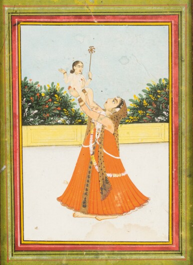 View 5. Thumbnail of Lot 39. RAJASTHAN AND NORTHERN INDIA, LATE 18TH CENTURY - EARLY 19TH CENTURY | SIX INDIAN MINIATURES .