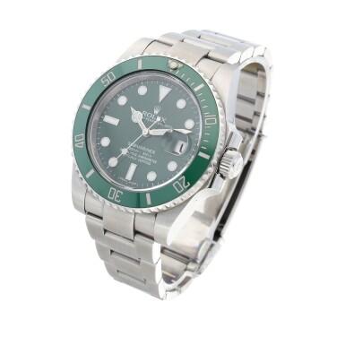 View 2. Thumbnail of Lot 406. 'Hulk' Submariner, Ref. 116610LV Stainless steel wristwatch with date and bracelet Circa 2010 | 勞力士 116610LV型號「'Hulk' Submariner」精鋼鍊帶腕錶備日期顯示,年份約2010.