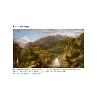 View 5. Thumbnail of Lot 36. FREDERIC EDWIN CHURCH | SOUTH AMERICAN LANDSCAPE.