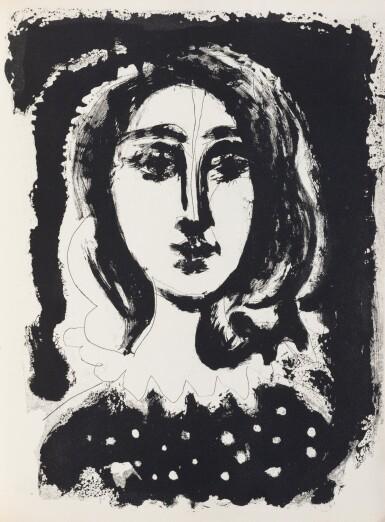 View 1. Thumbnail of Lot 157. Vingt Poèmes de Gongora. 1948. Exemplaire sur papier du Marais. 41 eaux-fortes et aquatintes..