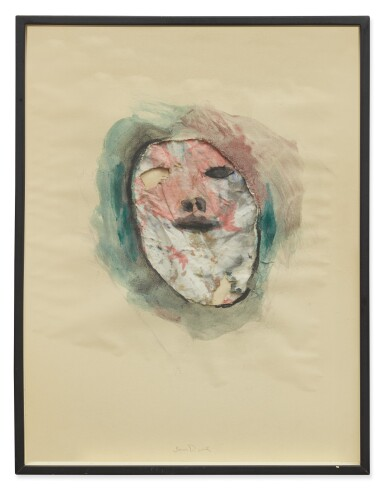 View 2. Thumbnail of Lot 416. JIM DINE | UNTITLED (HEAD).