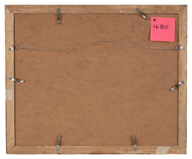 View 4. Thumbnail of Lot 107. FRANCESCO MONTI  |  RECTO: A CROUCHING MAN, SEEN FROM ABOVE; VERSO: STUDY OF LEGS.