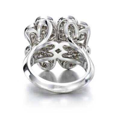View 3. Thumbnail of Lot 142. Diamond ring, 'Cosmos'.