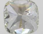 A 1.28 Carat Cushion-Cut Fancy Green Diamond, SI2 Clarity