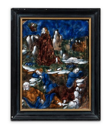View 2. Thumbnail of Lot 124. Christ on the Mount of Olives.