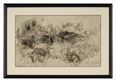 View 7. Thumbnail of Lot 1837. AMBADAS KHOBRAGADE | UNTITLED (SET OF THREE) .