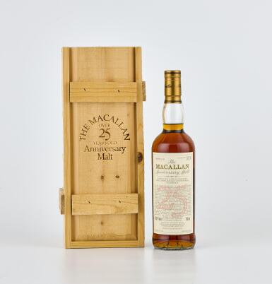 The Macallan 25 Year Old Anniversary Malt 43.0 abv 1968 (1 BT70)