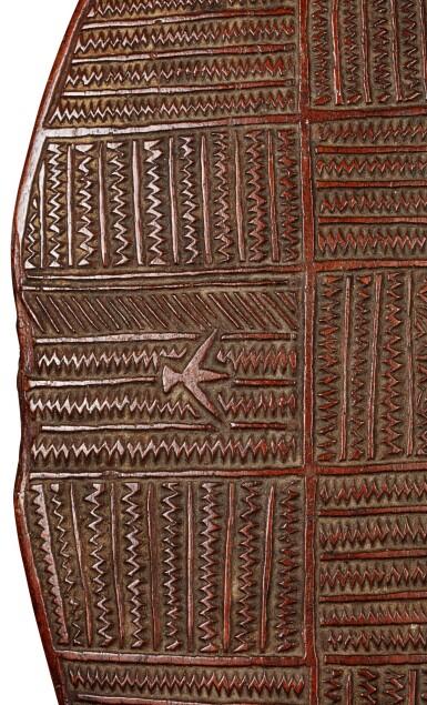 View 4. Thumbnail of Lot 78. Massue plate akau tau, Îles Tonga   Tonga Islands akau tau flat club.