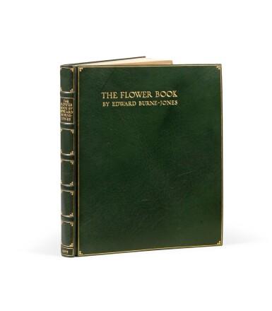 View 3. Thumbnail of Lot 142. The Flower Book. London, 1905. EO à 300 ex., 38 planches en couleurs. Petit in-folio, maroquin vert..