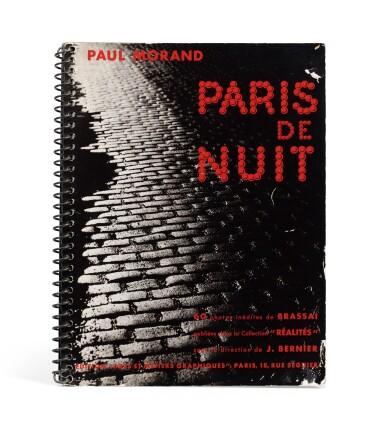 View 1. Thumbnail of Lot 63. (book) Paris de Nuit, 1932.