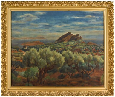 View 2. Thumbnail of Lot 13. JÓZEF PANKIEWICZ | LANDSCAPE IN PROVENCE.