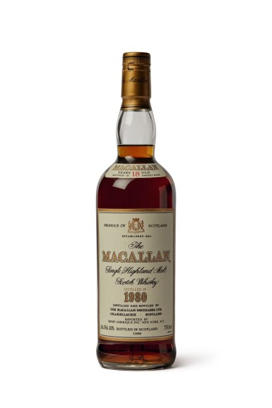 The Macallan, 1980, 18 Years Old