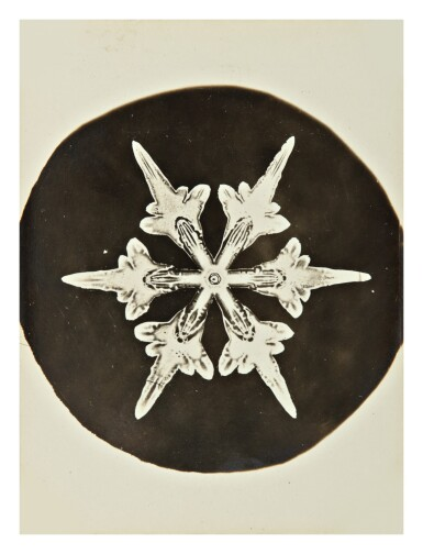 View 6. Thumbnail of Lot 142. WILSON A. BENTLEY | SELECTED IMAGES OF SNOWFLAKES.