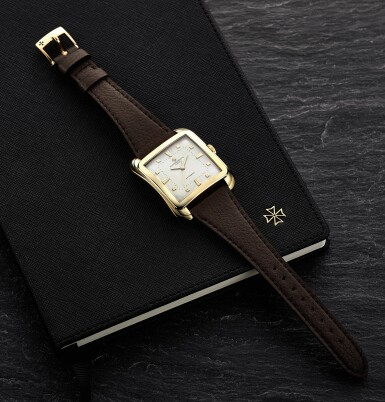 View 4. Thumbnail of Lot 5. VACHERON CONSTANTIN | 18K YELLOW GOLD AUTOMATIC GENTLEMAN'S WRISTWATCH, REF 6440.