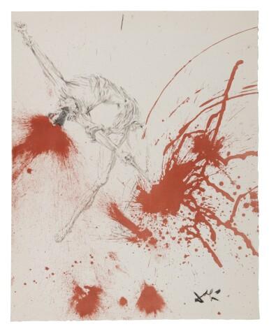 View 8. Thumbnail of Lot 79. Pages choisies de Don Quichotte de la Manche (Michler/Löpsinger 1001-1012; Field 57-1).