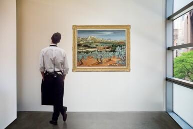 View 4. Thumbnail of Lot 35.  YVES BRAYER | OLIVIERS À MÉJEAN, LES BAUX-DE-PROVENCE.
