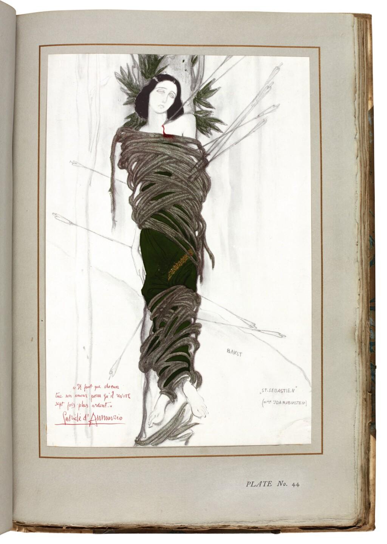 ALEXANDRE, ARSÈNE | THE DECORATIVE ART OF LÉON BAKST... NOTES ON THE BALLETS BY JEAN COCTEAU. LONDON: THE FINE ART SOCIETY, 1913