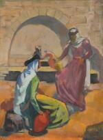 SALIBA DOUAIHY | UNTITLED (WOMEN AT A FOUNTAIN)