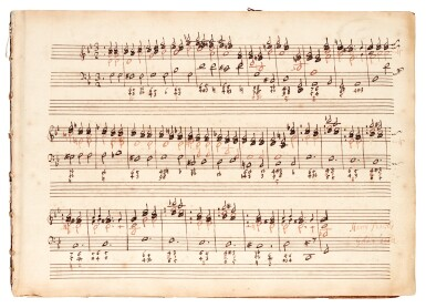 View 1. Thumbnail of Lot 81. H. Purcell. 'The Armstrong-Finch manuscript'. Important early volume of sonatas for violin and for flute, 1691-1720.