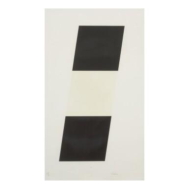 ELLSWORTH KELLY | BLACK WHITE BLACK (AXSOM 63)