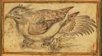 A SIMURGH CHICK, PERSIA, SAFAVID, 17TH CENTURY