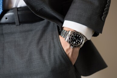 View 4. Thumbnail of Lot 2. ROLEX | GMT-MASTER II, REF 116710 STAINLESS STEEL DUAL TIME WRISTWATCH WITH DATE AND BRACELET CIRCA 2010.