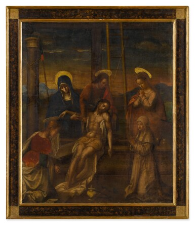 View 3. Thumbnail of Lot 512. Deposition of Christ.