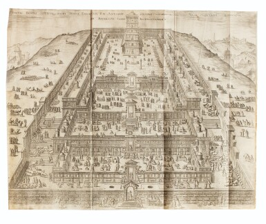 View 3. Thumbnail of Lot 7. MONTANUS. Antiquitatum iudicarum libri IX. Leyde, 1593. In-4 Rel. de l'époque à froid. 1ère et seule éd. séparée .