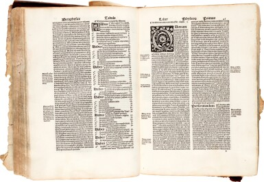 View 3. Thumbnail of Lot 2. Avenzohar | Liber teisir, Venice, 1496, limp vellum, and other works.