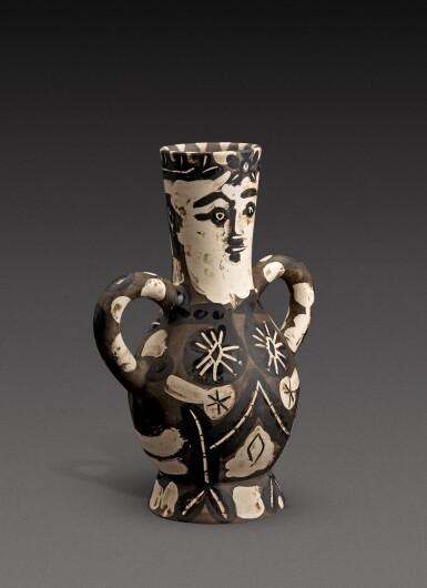 View 3. Thumbnail of Lot 11. Vase deux anses hautes (A. R. 141).