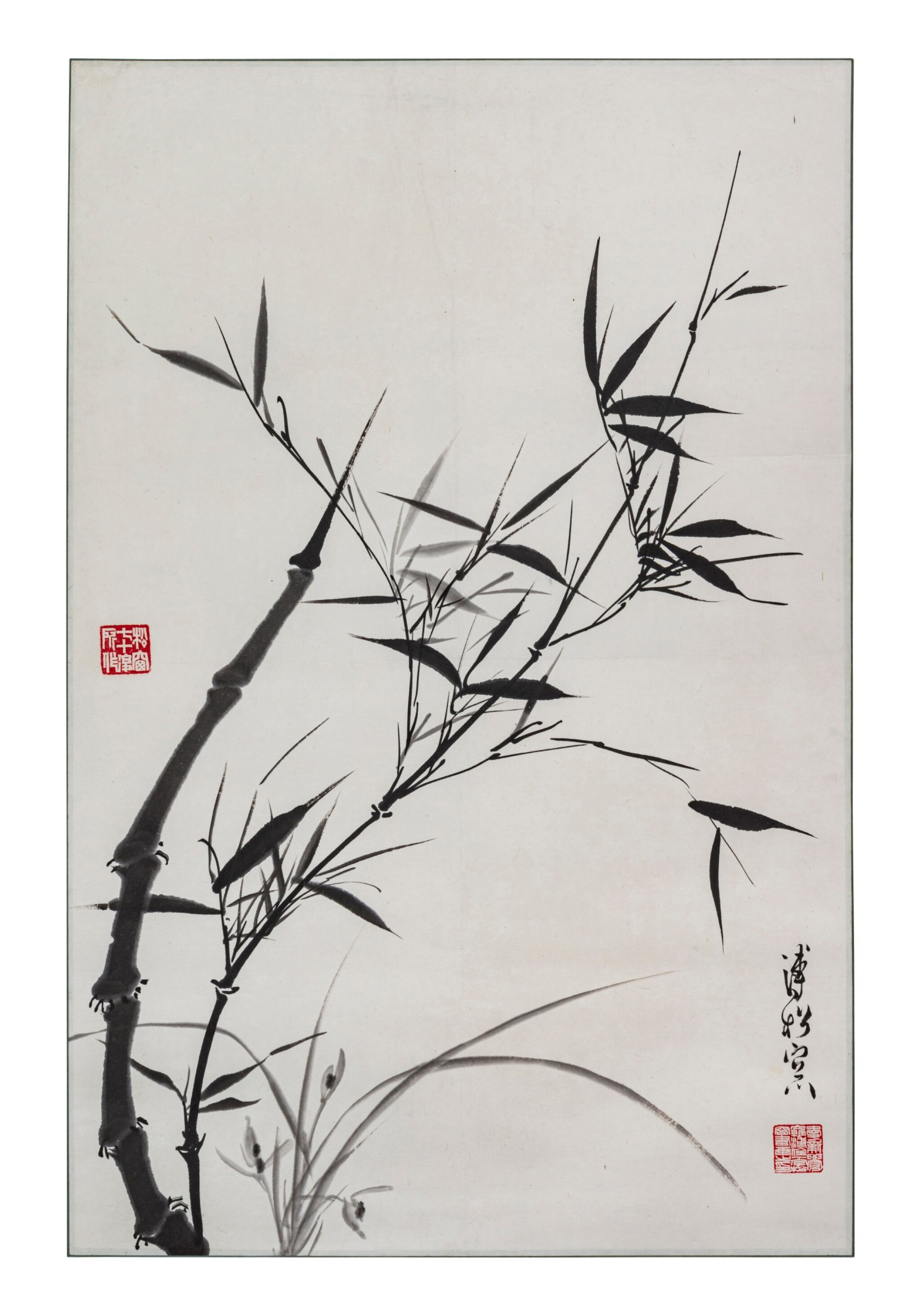 View 1 of Lot 126. Artistes variés Ensemble de neuf peintures | 花鳥畫 一組九幀 | Various artists Set of Nine Paintings.