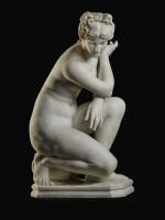RAFAELLO BATTELLI, AFTER THE ANTIQUE | CROUCHING VENUS