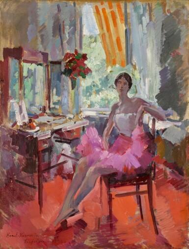 View 1. Thumbnail of Lot 69. Portrait of the Ballerina Vera Trefilova.