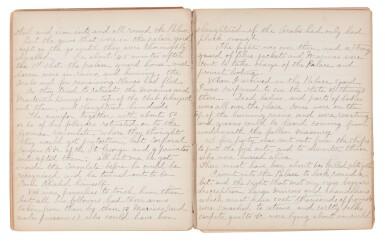KING | Manuscript memoir of his military service in African wars, 1895-97
