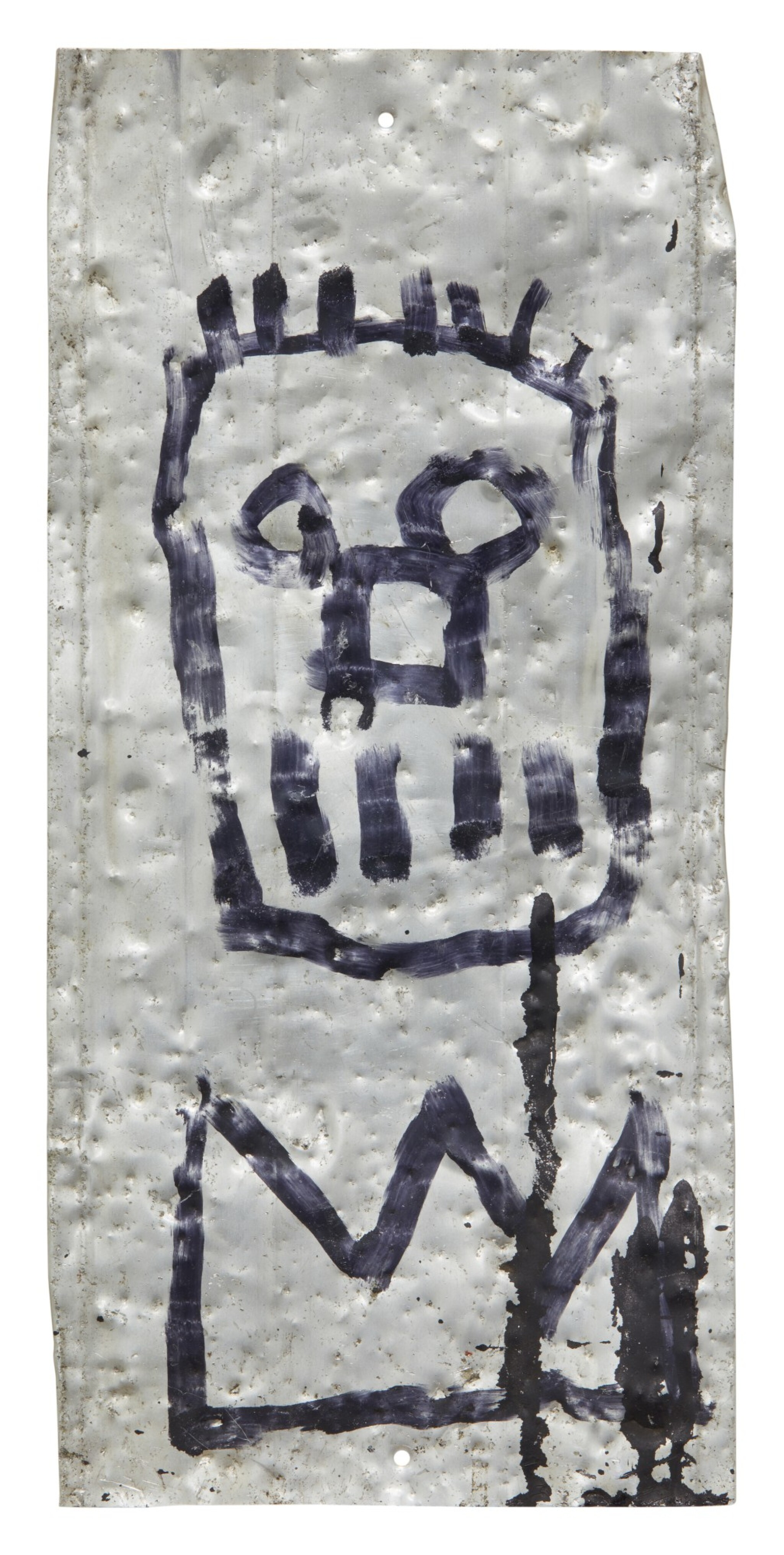 View full screen - View 1 of Lot 1016. JEAN-MICHEL BASQUIAT | UNTITLED.