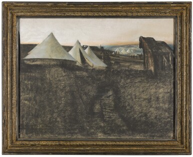 View 2. Thumbnail of Lot 735. ERIC KENNINGTON, R.A. | BELL TENTS.