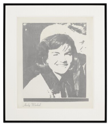 View 2. Thumbnail of Lot 24. ANDY WARHOL | JACQUELINE KENNEDY I (JACKIE I) (F. & S. II.13).