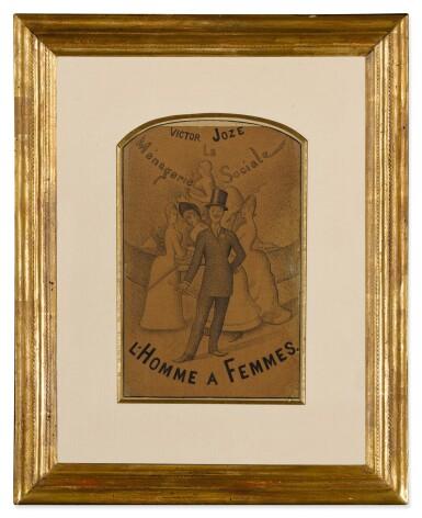 View 2. Thumbnail of Lot 29. L'Homme à femmes.